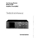 Harman Kardon A-402 Service Manual