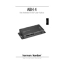 Harman Kardon ABH-4 (serv.man2) User Guide / Operation Manual