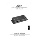 Harman Kardon ABH-4 (serv.man6) User Guide / Operation Manual