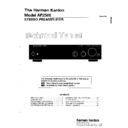 Harman Kardon AP 2500 (serv.man2) Service Manual