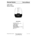 Harman Kardon AURA STUDIO Service Manual