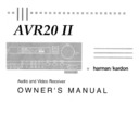 Harman Kardon AVAP 2G (serv.man3) User Guide / Operation Manual