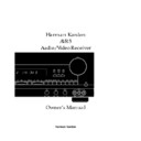 Harman Kardon AVAP 5G User Guide / Operation Manual