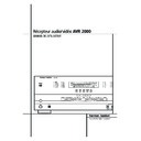 Harman Kardon AVR 2000 (serv.man10) User Guide / Operation Manual