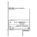 Harman Kardon AVR 2000 (serv.man7) User Guide / Operation Manual