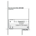 Harman Kardon AVR 2000 (serv.man9) User Guide / Operation Manual