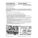 Harman Kardon AVR 2000 Technical Bulletin