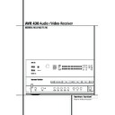 Harman Kardon AVR 430 (serv.man14) User Guide / Operation Manual