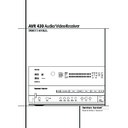 Harman Kardon AVR 430 (serv.man16) User Guide / Operation Manual