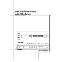 Harman Kardon AVR 430 (serv.man2) User Guide / Operation Manual