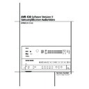 avr 430 (serv.man3) user guide / operation manual