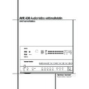 Harman Kardon AVR 430 (serv.man7) User Guide / Operation Manual