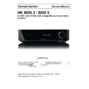 Harman Kardon BDS 5 Service Manual