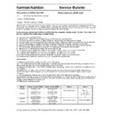 Harman Kardon FL 8350 (serv.man14) Technical Bulletin