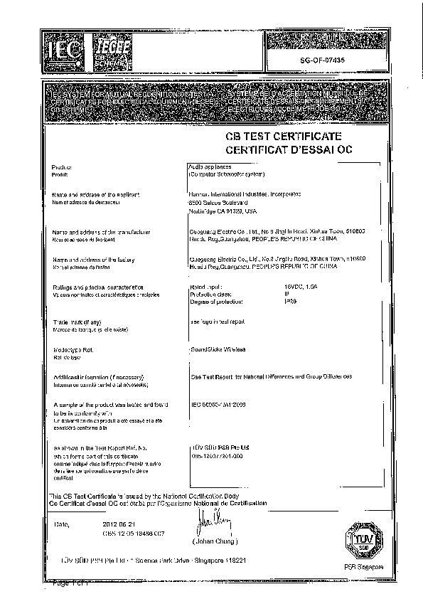 Harman Kardon SOUNDSTICKS III Service Manual - FREE DOWNLOAD on