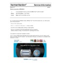 Harman Kardon DRIVE AND PLAY (serv.man4) Info Sheet