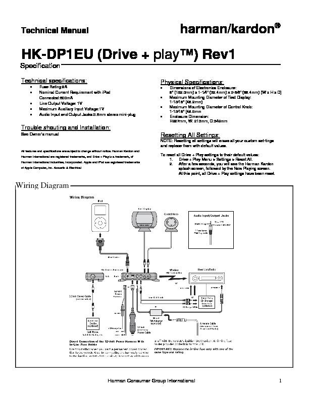 harman kardon drive and play serv man5 service manual free download rh servicemanuals us Harman Kardon Subwoofer Harman Kardon Subwoofer