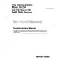 Harman Kardon HK 570I Service Manual