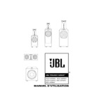 JBL 1000 ARRAY (serv.man10) User Guide / Operation Manual