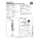 JBL 1000 ARRAY (serv.man12) Service Manual
