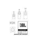 JBL 1400 ARRAY (serv.man4) User Guide / Operation Manual
