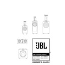 JBL 1400 ARRAY (serv.man9) User Guide / Operation Manual