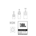 JBL 1500 ARRAY (serv.man2) User Guide / Operation Manual