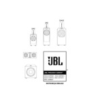 JBL 1500 ARRAY (serv.man9) User Guide / Operation Manual