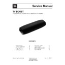 JBL Boost TV (serv.man3) Service Manual