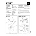JBL HT 4V (serv.man3) Service Manual