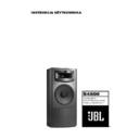 JBL K2S4800 (serv.man10) User Guide / Operation Manual