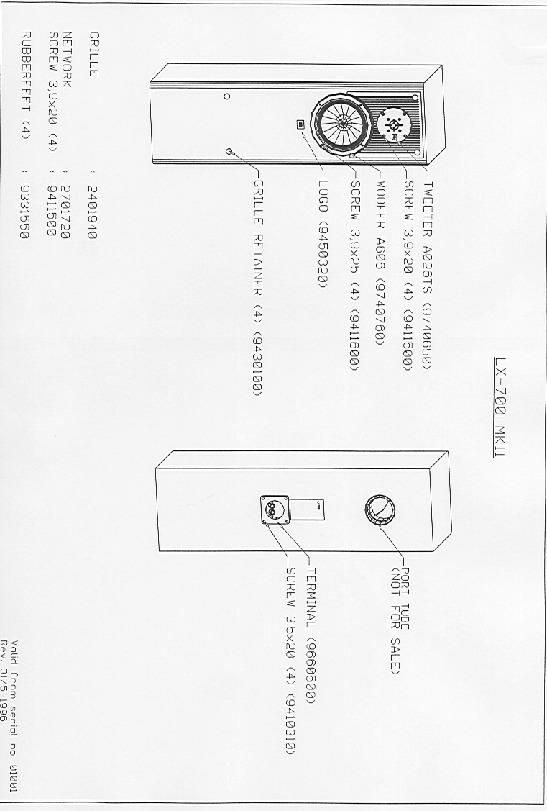 jbl lx 700 service manual