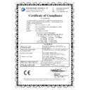 ON STAGE III IIIP (serv.man9) EMC - CB Certificate