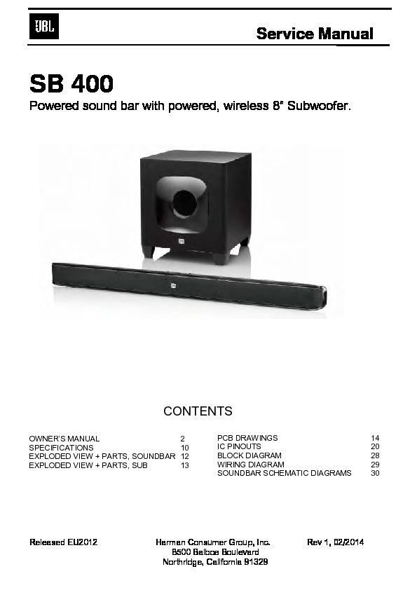 sb 400 service manual