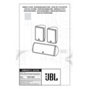 JBL SCS 138 TRIO User Guide / Operation Manual