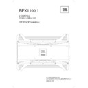 JBL BPX 1100.1 (serv.man11) Service Manual