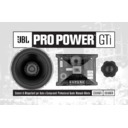 JBL C608GTi (serv.man6) User Guide / Operation Manual