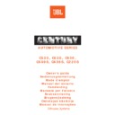 JBL CENTURY C 620 User Guide / Operation Manual
