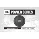 JBL P1020e (serv.man8) User Guide / Operation Manual