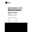 LG MB-393MC Service Manual