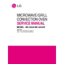 LG MC-805AR Service Manual
