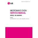 LG MC-8082WRS Service Manual