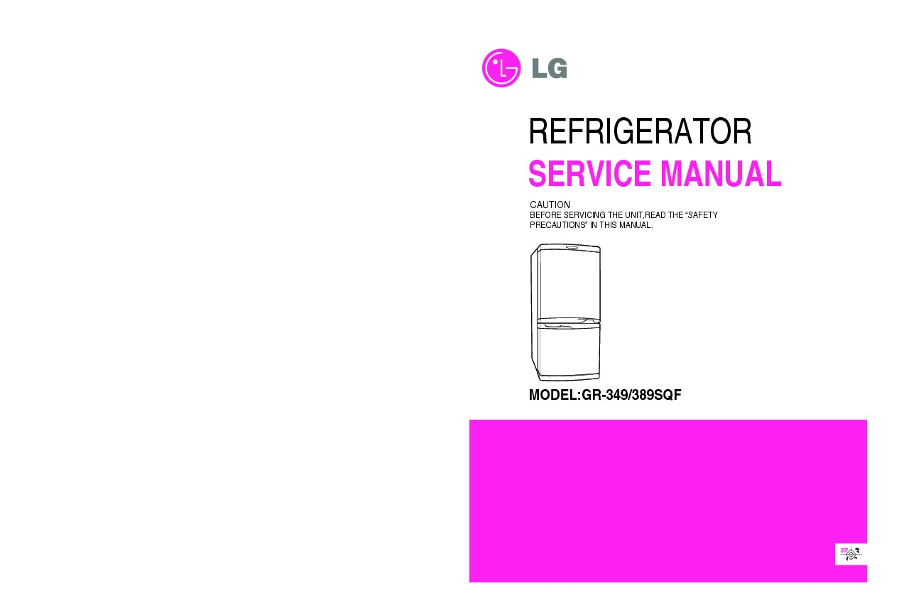 Lg Refrigerator Service Manuals Free Download