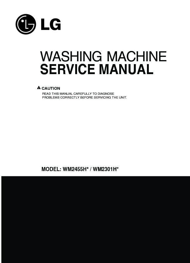 Lg Wm2301hr Service Manual