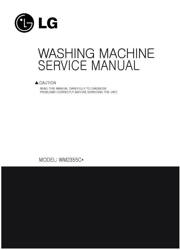 Lg Wm2355cs Service Manual