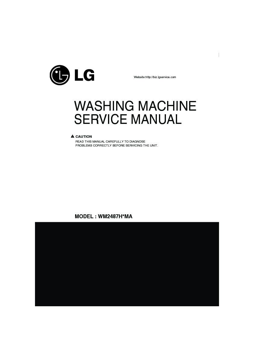 Lg Wm2487hrma Service Manual