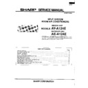 Sharp AE-A124 Service Manual