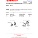 Sharp AE-A129E (serv.man2) Technical Bulletin