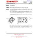 Sharp AE-A129E Technical Bulletin