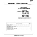 Sharp AE-A244 Specification